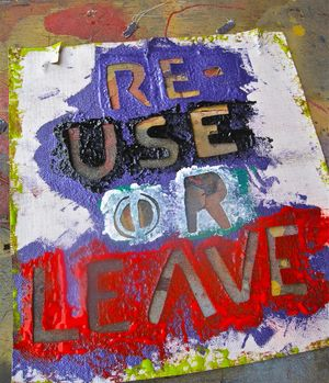 ReUse or Leave Stencil