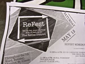 ReFest Fliers